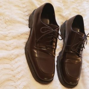 Banana Republic Italian leather oxfords EUC